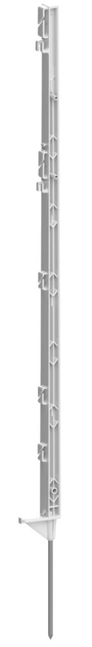 Picchetto Bianco 105 cm confezione da 5 pz