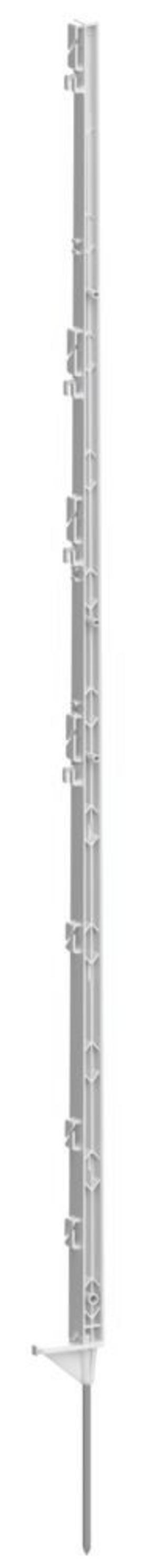 Picchetto Bianco 156 cm confezione da 5 pz