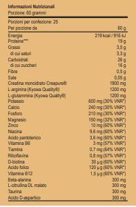 MASS PURE FERMENTATE - Energetico stimolante 1,5 Kg