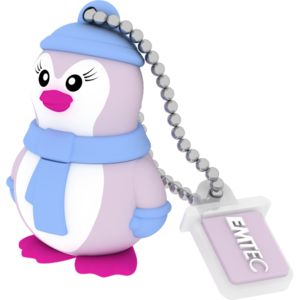 MEMORIA USB2.0 M336 16GB Animalitos Lady Penguin