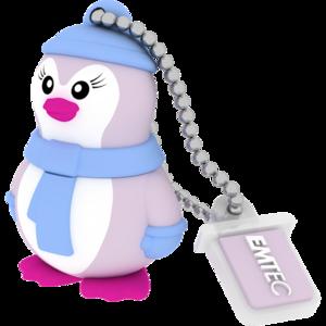 MEMORIA USB2.0 M336 16GB Animalitos Lady Penguin