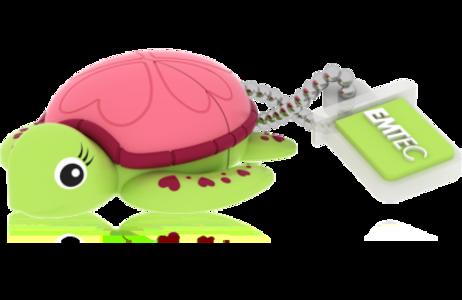 MEMORIA USB2.0 M335 16GB Animalitos Lady Turtle