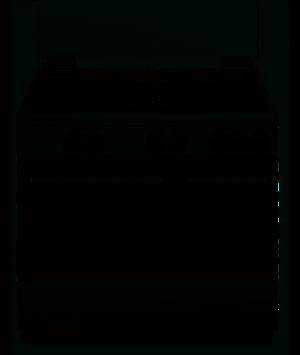 SCHAUB LORENZ Cucina a gas 5 fuochi Forno Elettrico con Grill Elettrico 90x60 BIANCO SS590EW