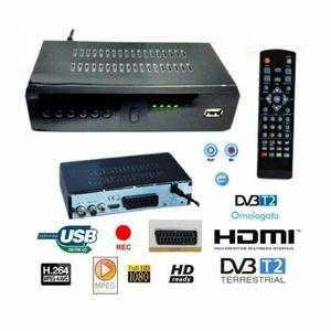 DECODER 999 RICEVITORE DIGITALE TERRESTRE DVB-T2 TV USB SCART HDMI TELECOMANDO