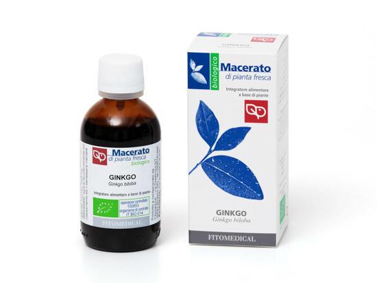 Fitomedical - Ginkgo Macerato da pianta fresca bio