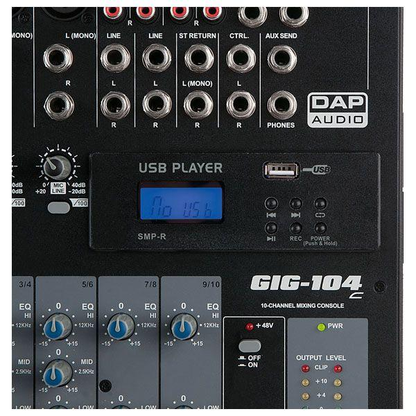 DAP - MP3 USB RECORD MODULE FOR GIG