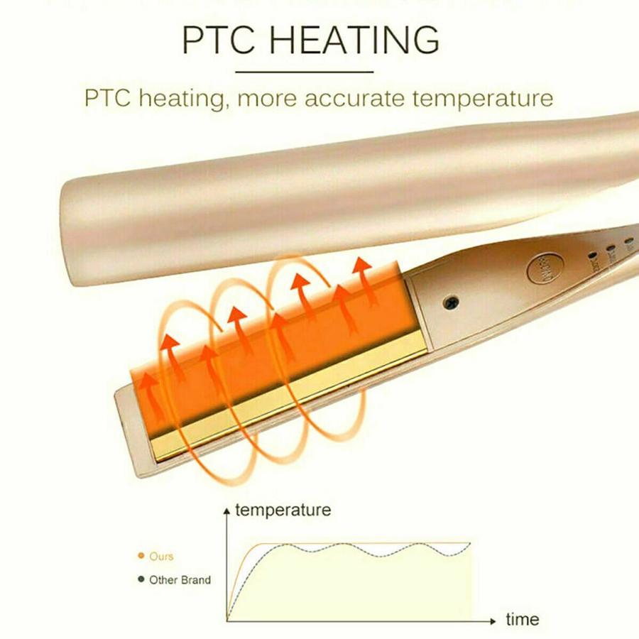PIASTRA PER CAPELLI 2 IN 1 ARRICCIACAPELLI PROFESSIONALE 230°C RICCI