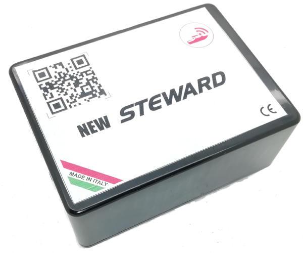 Tracker Localizzatore per Barca Funzione Antifurto e Monitoraggio Rada mod. New Steward Fuoribordo
