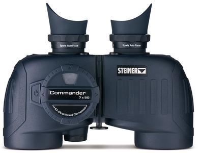 Binocolo Impermeabile Commander 7x50 con Bussola di Steiner - Offerta di Mondo Nautica  24