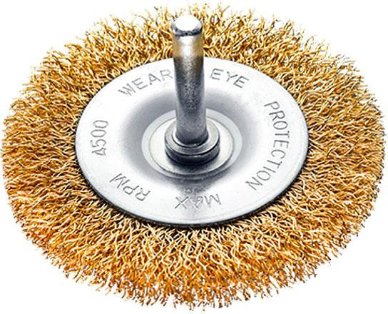 Spazzola circolare con gambo ''sit'' ø mm 100