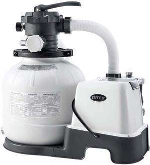 Pompa a sabbia per piscina COMBO INTEX 26676 con clorinatore e pompa a sabbia 6056 lt/h INTEX  28676
