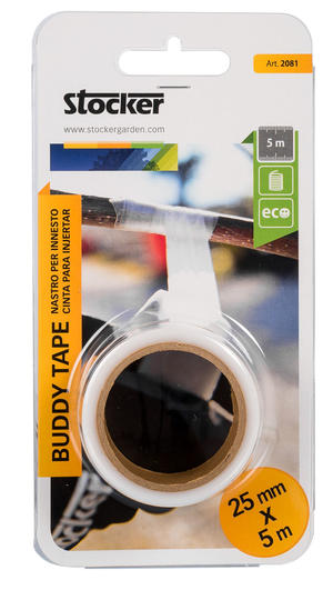 Buddy Tape Non Perforato 25 mm x 5m STOCKER