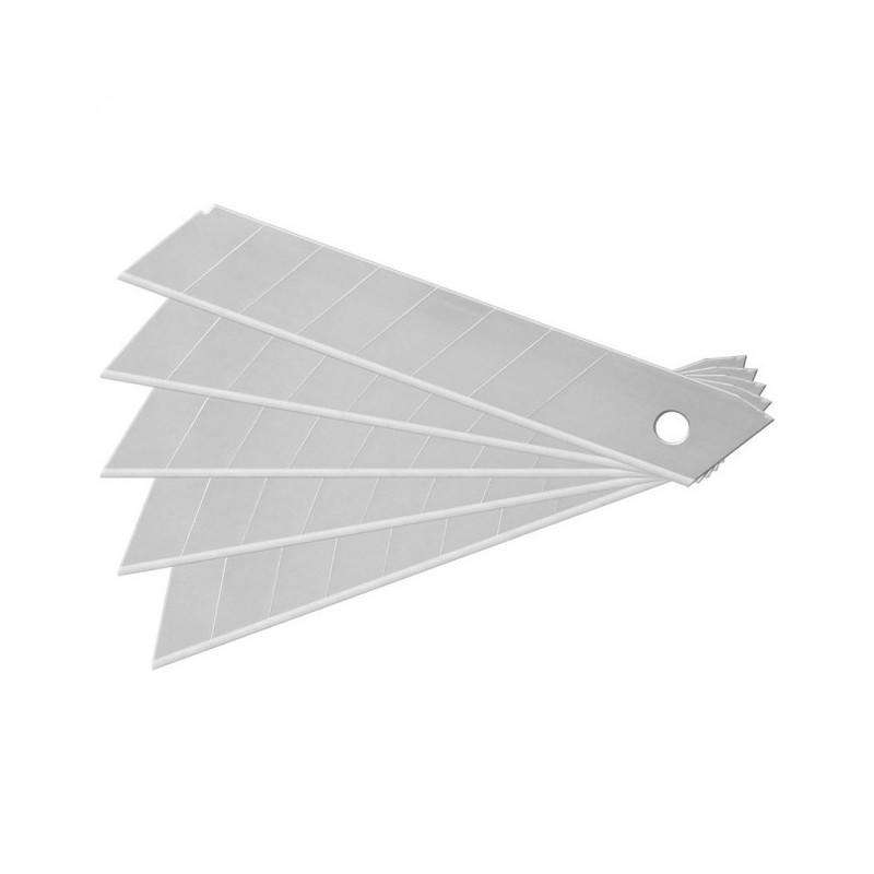 Lame per cutter  mm 18 - conf. 10 pezzi lame taglierina grande