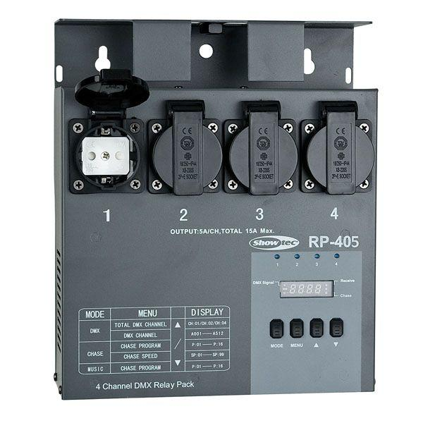 SHOWTEC - RP-405 MKII RELAY PACK