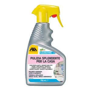 Detergente Detergente CLEAN & SHINE FILA 750 ml Pulitore Universale A Spruzzo