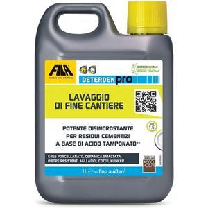 Fila DETERDEK PRO - Disincrostante acido per pavimenti lt 5