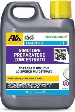 Detergente FILA per terrazza rimotore preparatore concentrato FILA SALVATERRAZZA® FASEZERO da 1 lt