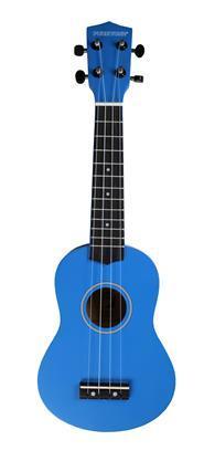 Pure Tone Soprano Ukulele Blue Pack KUS15