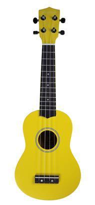 Pure Tone Soprano Ukulele Yellow Pack KUS15