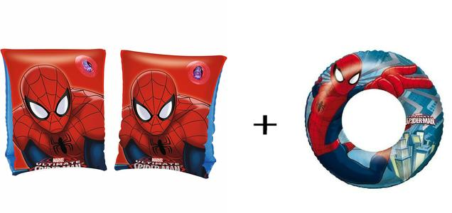 Braccioli + Ciambella Salvagente Spider-man Marvel Spiderman