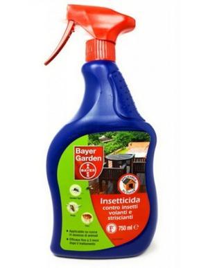 Insetticida Spray contro Zanzare & Altri Insetti 750 ml