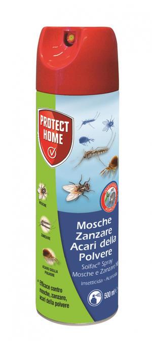 Solfac Spray contro Mosche e Zanzare 500 ml