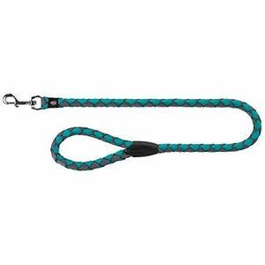 Trixie Guinzaglio Tubolare Per Cani S Azzurro Lungo 100 cm Spessore 12mm
