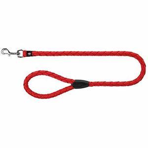 Trixie Guinzaglio Tubolare Per Cani S Rosso Lungo 100 cm Spessore 12mm