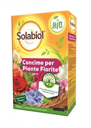 Concime Piante Fiorite Solabiol 750 gr