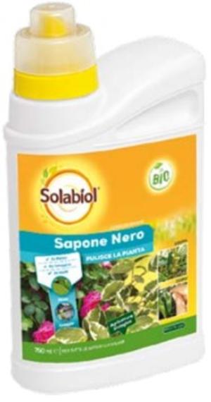 Sapone Nero Lava Melata Solabiol 750 ml