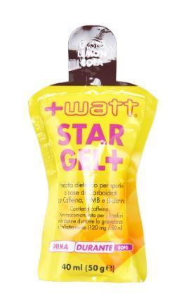 STAR GEL + - confezioni da 40 ml gusto lemon / cola