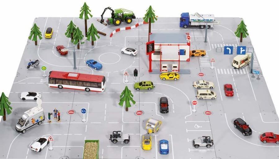 Moduli pista segnaletica stradale - Sikuworld 5599 - 3+ anni