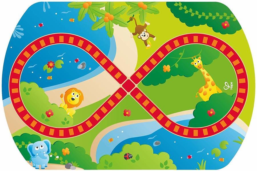 Tavolo gioco Trenino avventura nella Jungla - Hape E3824 - 18+ mesi