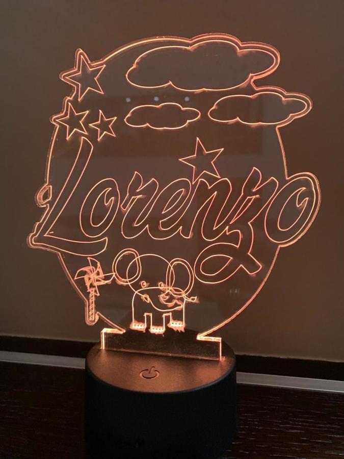 LAMPADA LED PERSONALIZZABILE