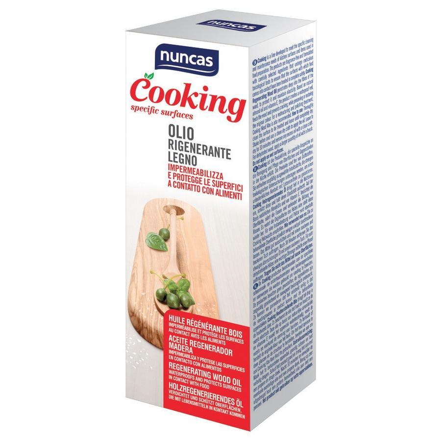 Cooking Olio Rigenerante Legno Nuncas 175 ml