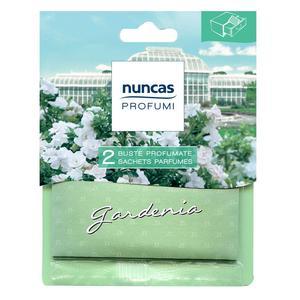 2 Buste Profumate per Cassetti Gardenia Nuncas