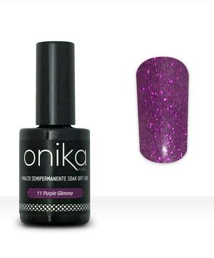 Smalto Semipermanente N.11 - Purple Glimmer 15 ml