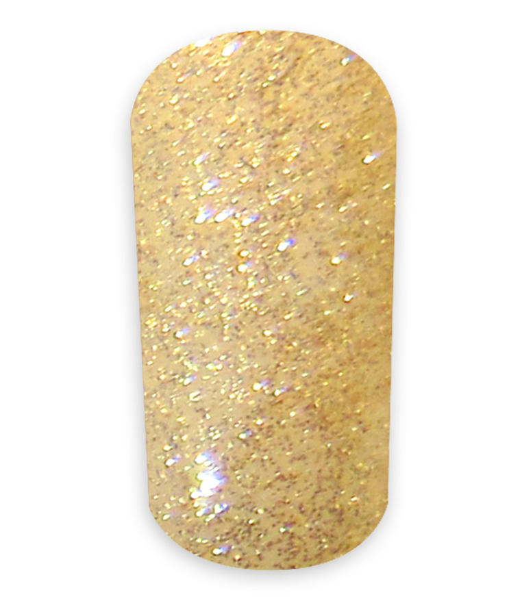 Smalto Semipermanente N.35 - Sparkling Gold 15 ml