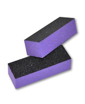 Buffer 3 lati nero e viola