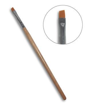 Pennello punta piatta N.4 - Nail Art