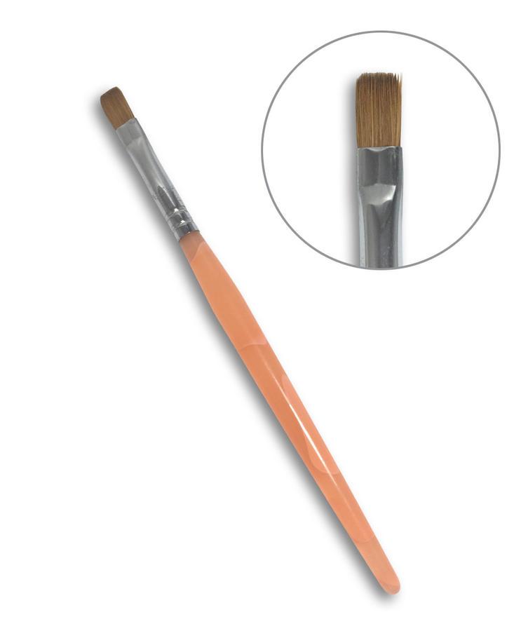 Pennello a punta piatta N.8 - Nail Art
