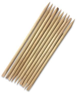 Spingicuticole in legno d'arancio - 10 pz
