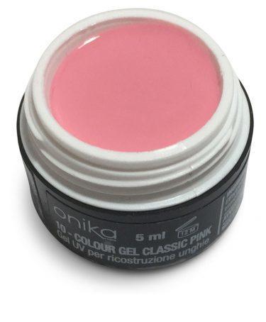 Gel color n°010-0 Classic Pink- 5 ml