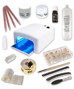 Kit Starter con 2 gel + Lampada UV 36 watt + Manuale