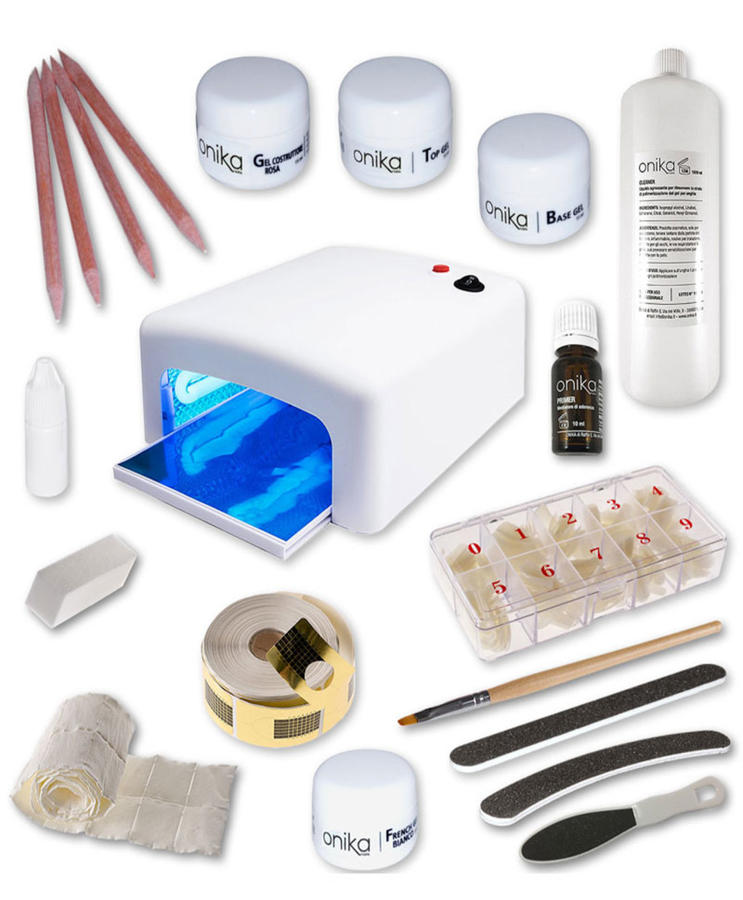 Kit Starter 4 gel + Lampada UV 36 watt Basic + Manuale in PDF