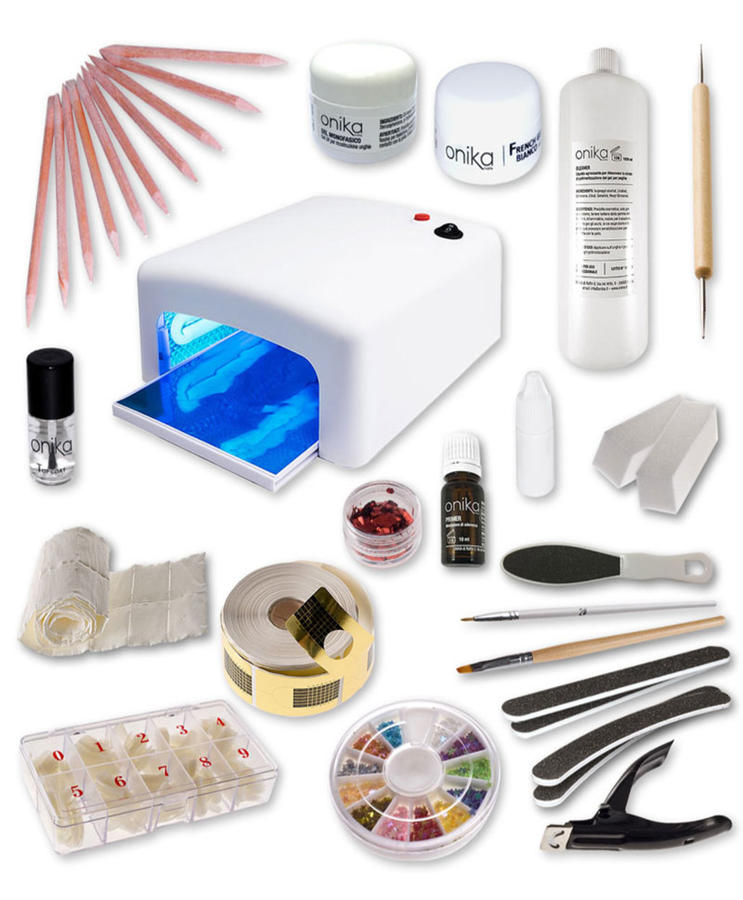Kit Starter Plus 2 gel + Lampada UV 36w + Manuale in PDF