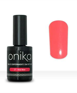 Smalto semipermanente N.27 -  Rosa Neon 15 ml