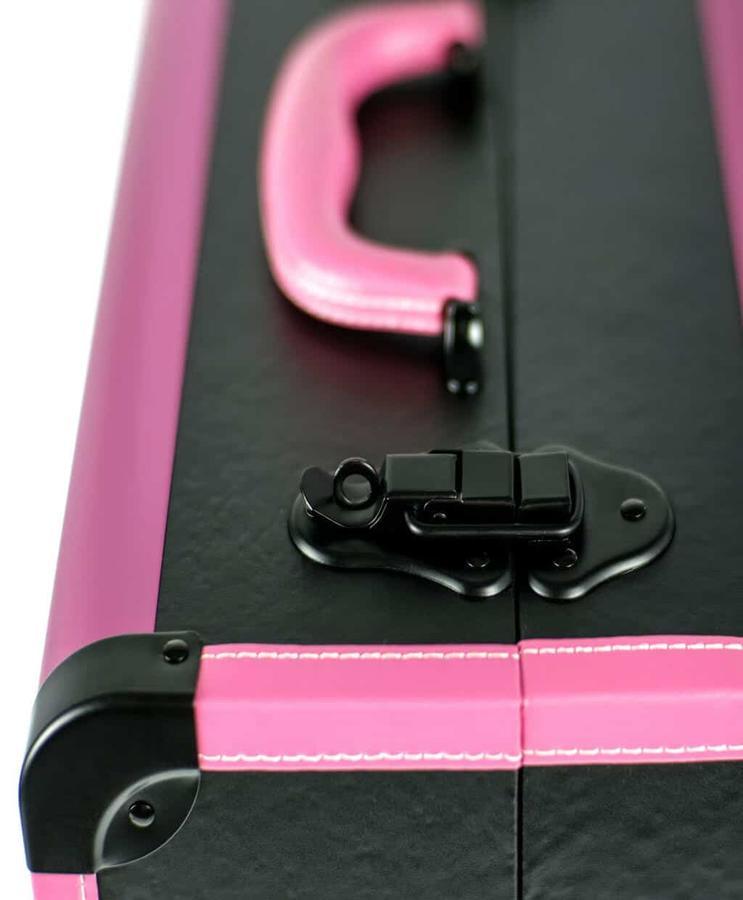 Beauty ricostruzione unghie in ecopelle Nero/Rosa