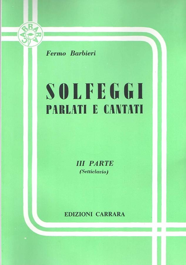 Barbieri - Solfeggi Vol. 3