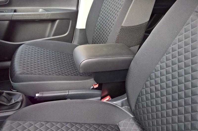 Adjustable armrest with storage for Skoda Citigo